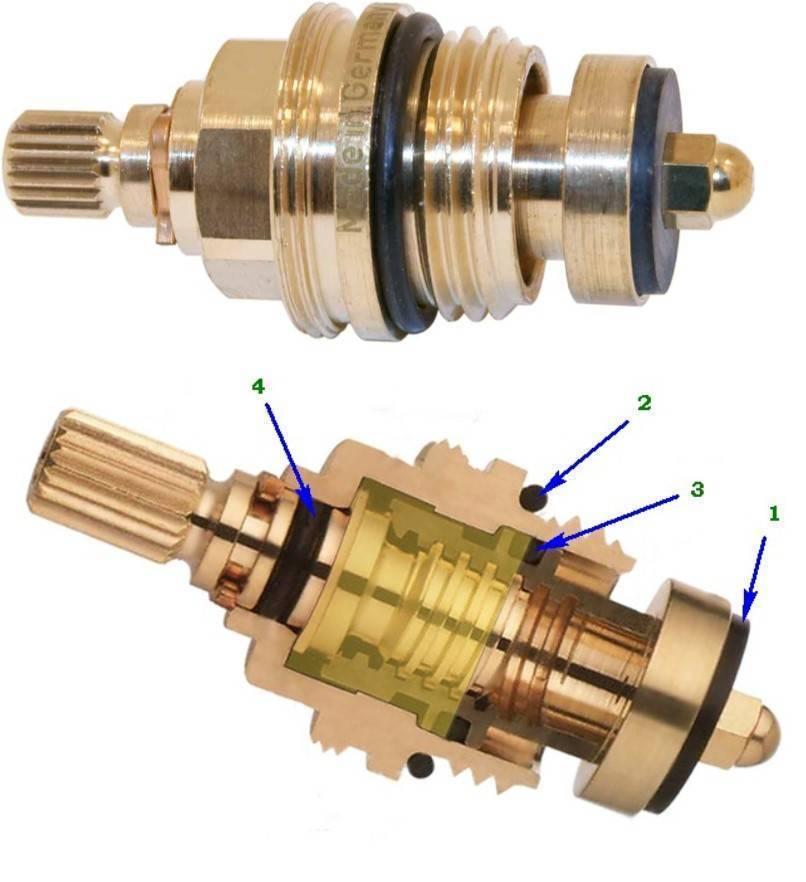 Ремонт кран-буксы своими руками: разборка керамической или червячной буксы