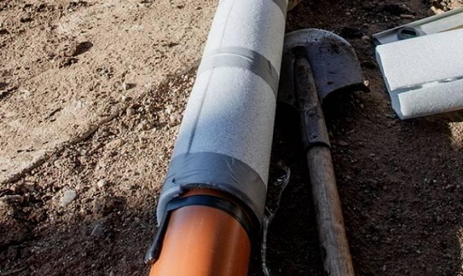 Изоляция и утепление пластиковых труб