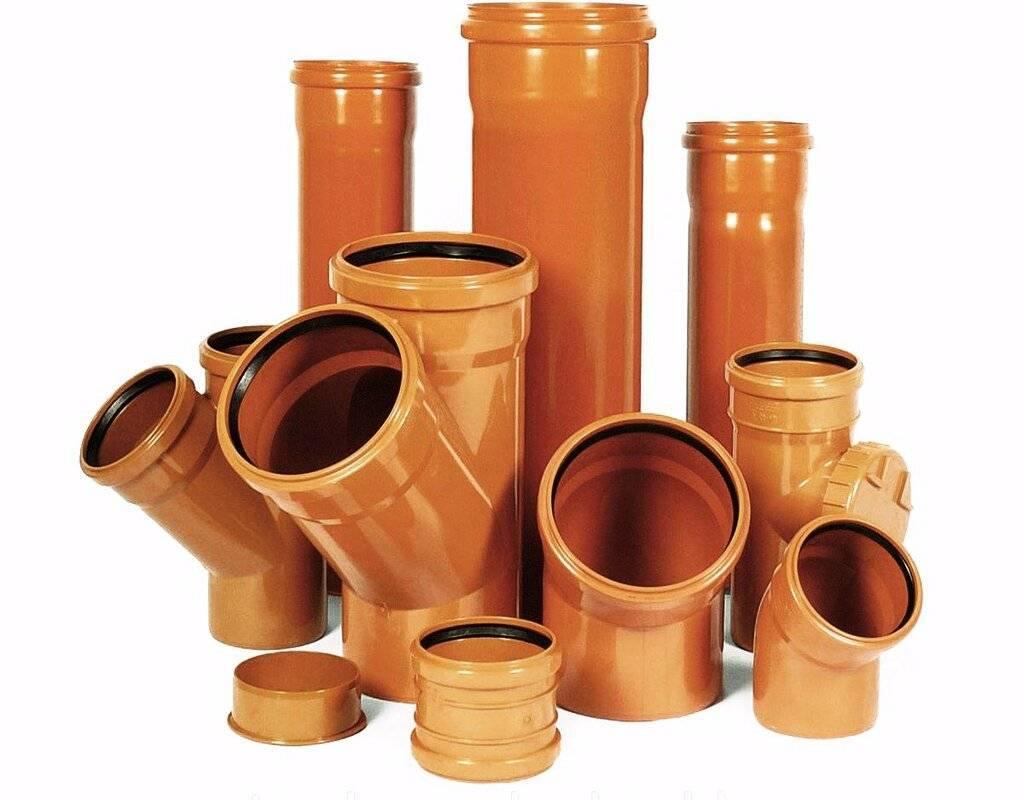 Какие трубы есть для канализации. какие трубы лучше для канализации и почему