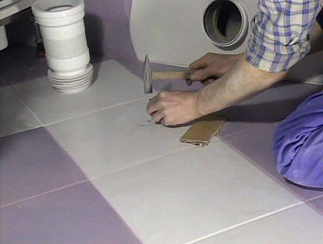 Как установить унитаз на плитку — установка на кафельный пол своими руками