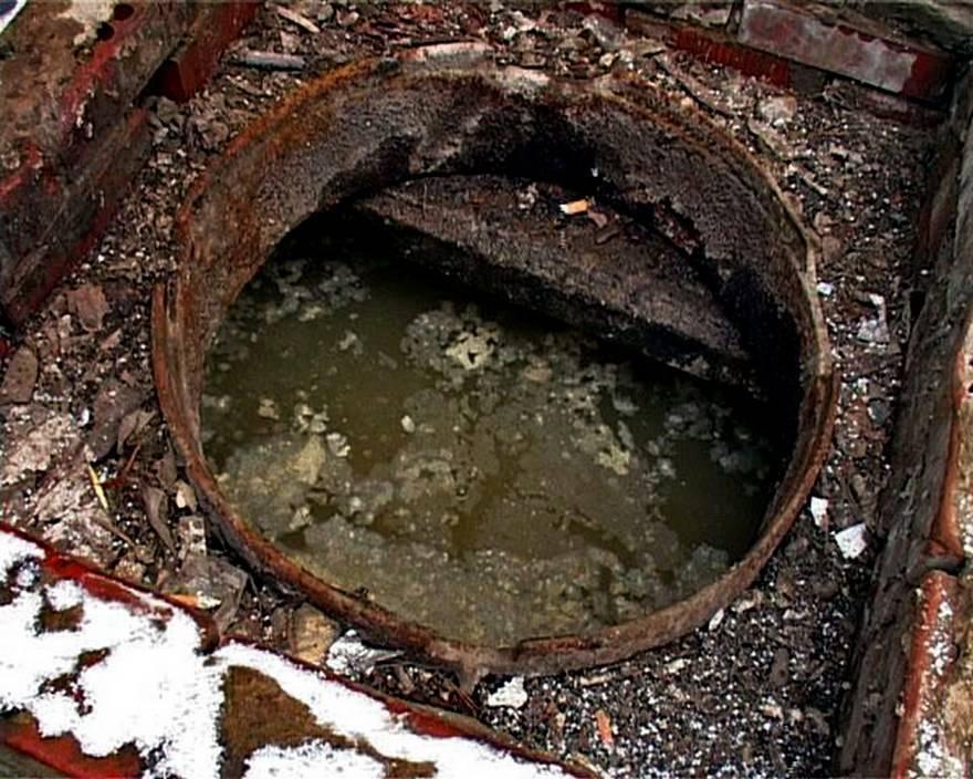 Почему выгребная яма ???? быстро наполняется и не уходит вода ????