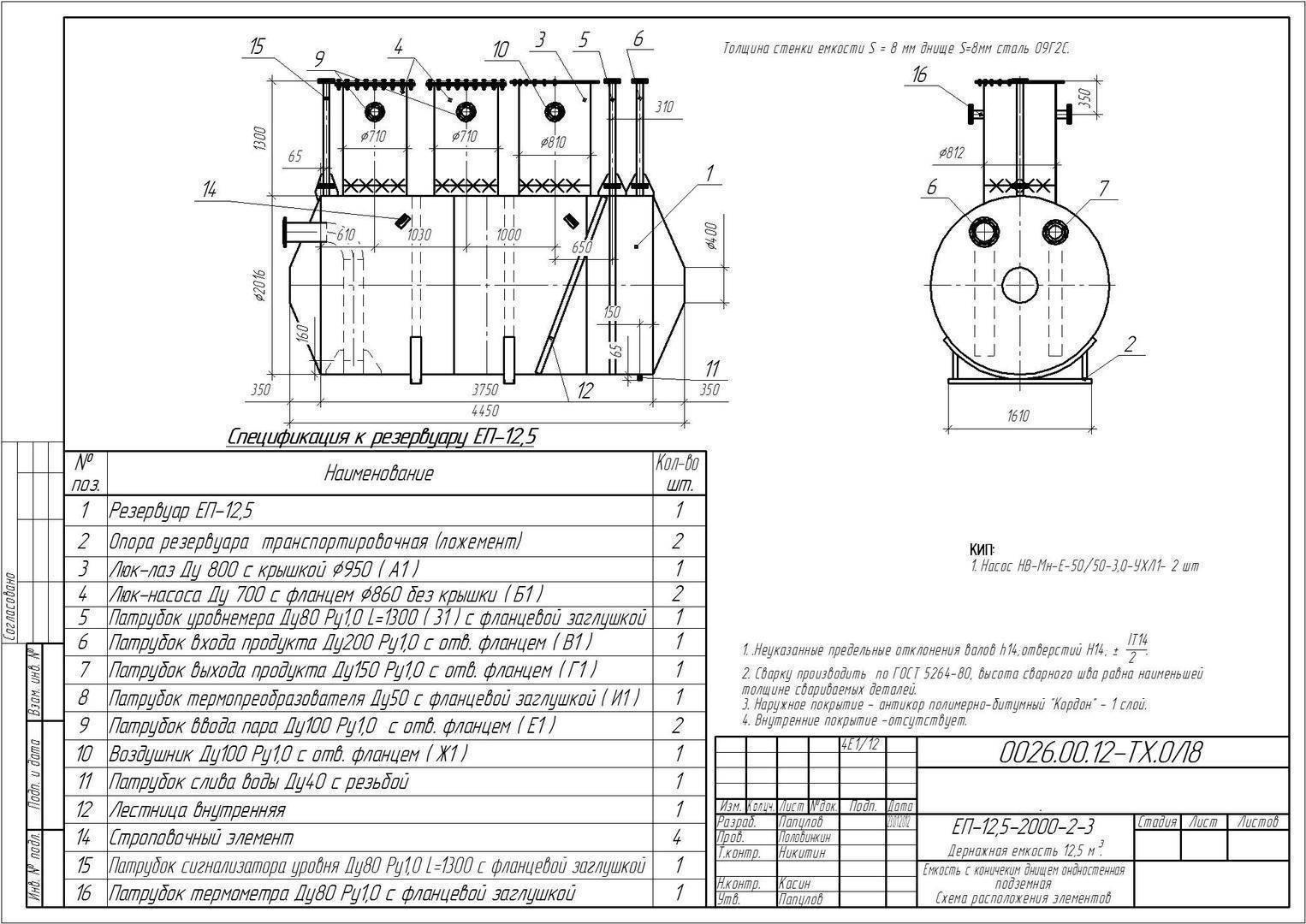 Дренажные пластиковые колодцы: плюсы и минусы, разновидности емкостей и особенности монтажа. технические условия на емкости подземные горизонтальные дренажные типов еп, епп емкости подземные металлические