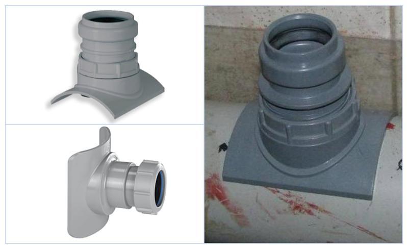 Врезка в канализационную трубу: как врезаться в пластиковую и чугунную трубу канализации, как сделать врезку, накладку