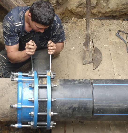 Технологияфланцевого соединения стальных труб: пошаговая инструкция +фото и видео