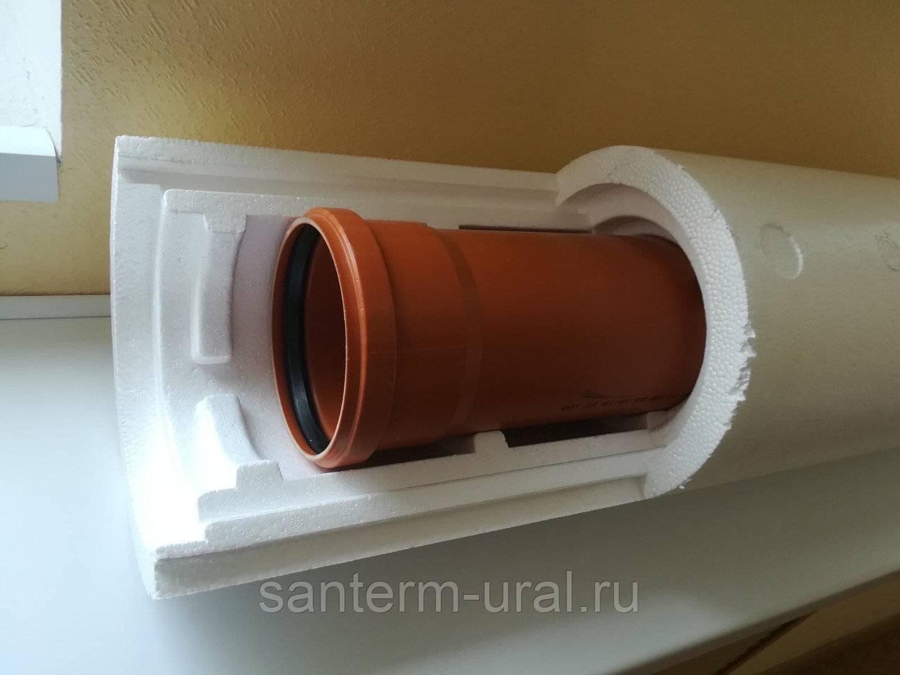 Утеплитель для канализационных труб: виды и сравнение их характеристик