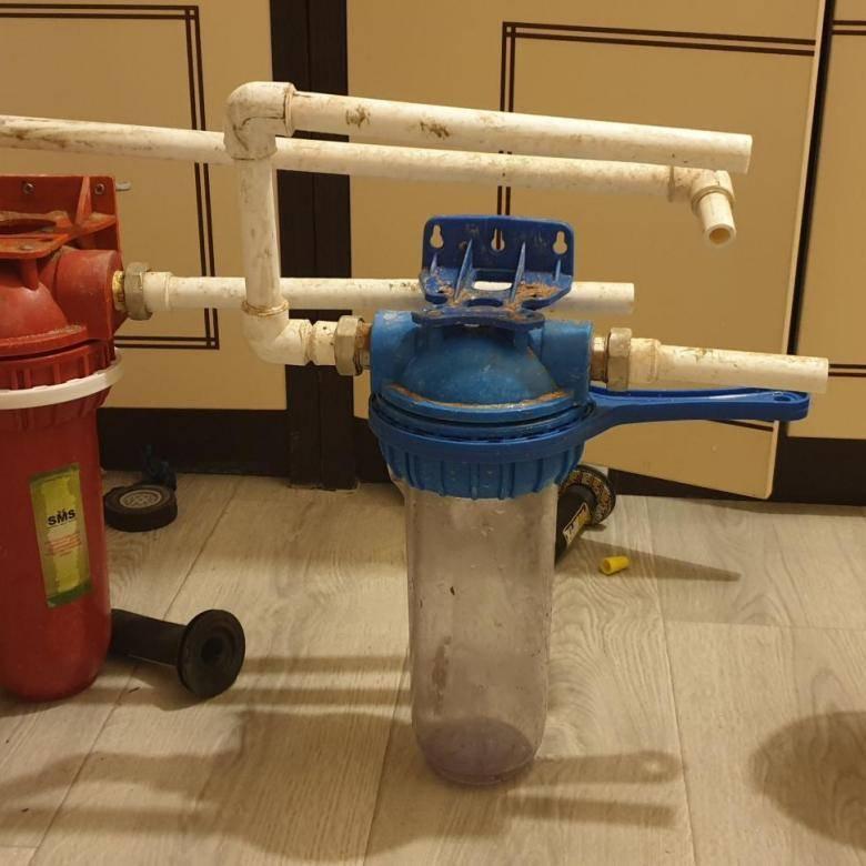 Фильтр грубой механической очистки воды для квартиры