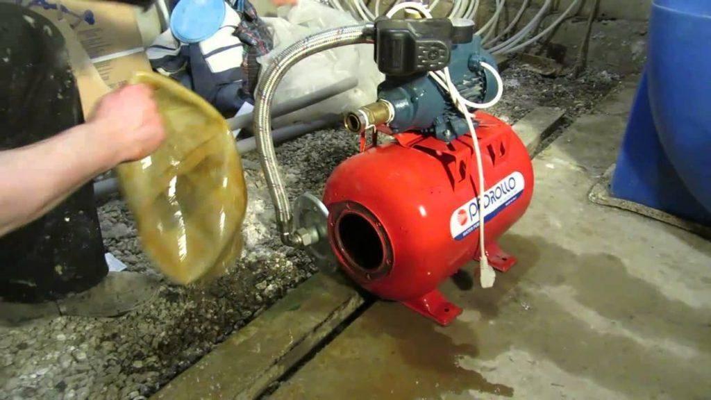 Водяная станция не отключается что делать: гидрофор не выключается
