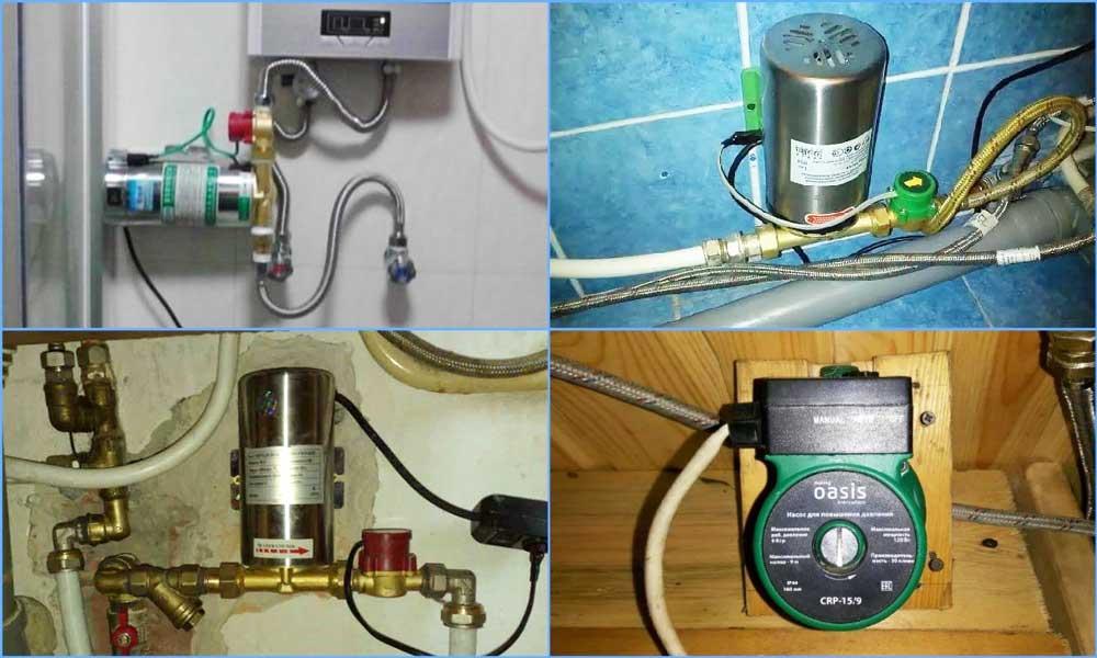 Водяной насос в квартиру для повышения давления - всё о сантехнике