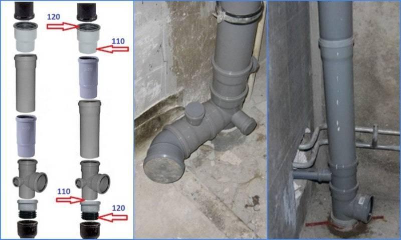 Канализационный стояк в многоэтажном доме: диаметр стояка канализации, как поменять стояк в туалете, ремонт, высота установки ревизии, как прочистить, монтаж, как заменить тройник, если забился стояк канализации