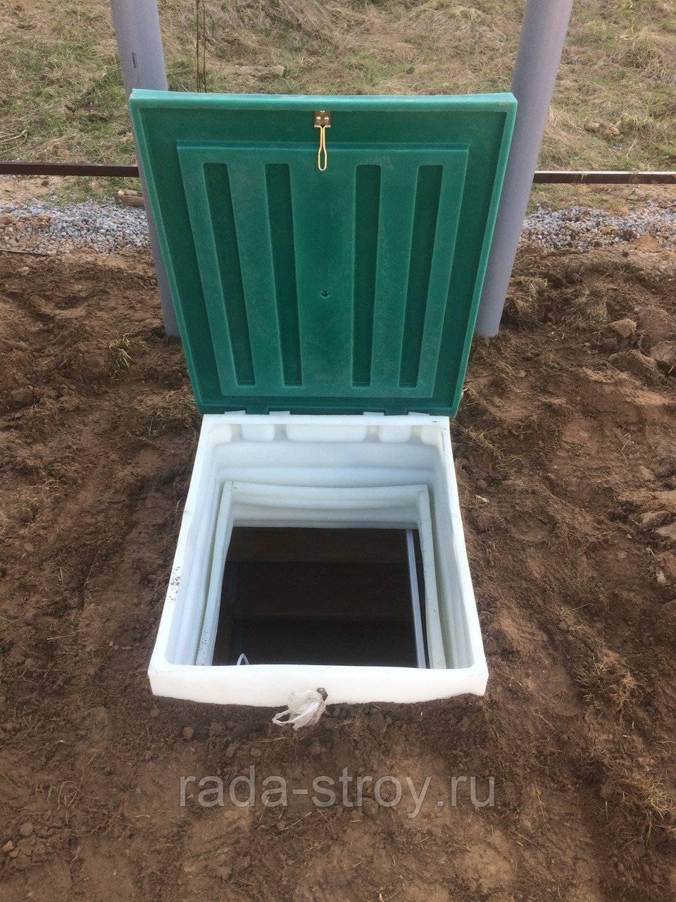 Погреб кессон металлический: применение, монтаж, обустройство