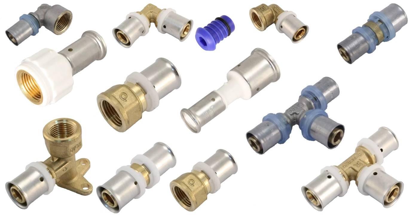 Фитинги для металлопластиковых труб – какие инструменты нужны для работы, особенности монтажа разных фитингов