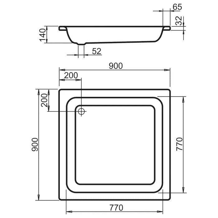 Поддоны для душевых кабин: типовые формы и размеры поддонов, особенности выбора и монтажа