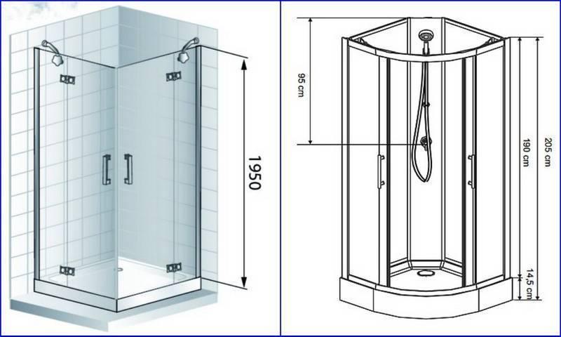 Душевая кабина без крыши: что лучше с верхом или задней стенкой, изготовление с прямоугольным потолком и тропическим душем