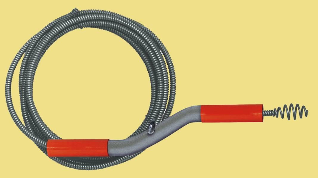 Трос для прочистки труб: выбор сантехнического ручного троса для водопровода и канализации