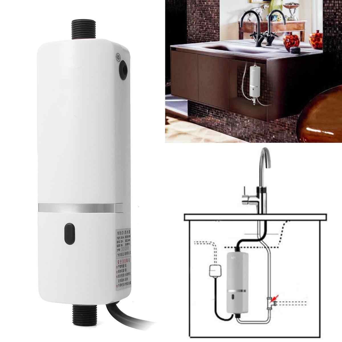 Проточный водонагреватель: проектирование и установка нагревателя (85 фото)