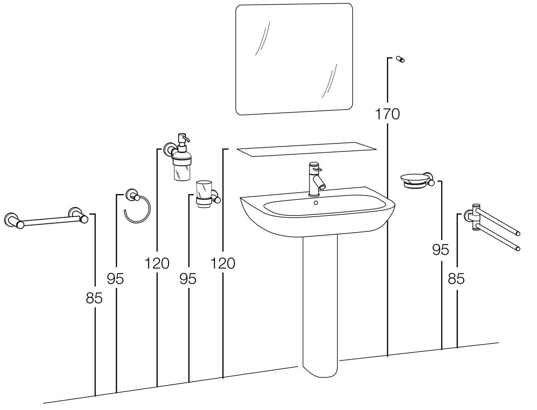Как установить раковину с пьедесталом в ванной собственными руками