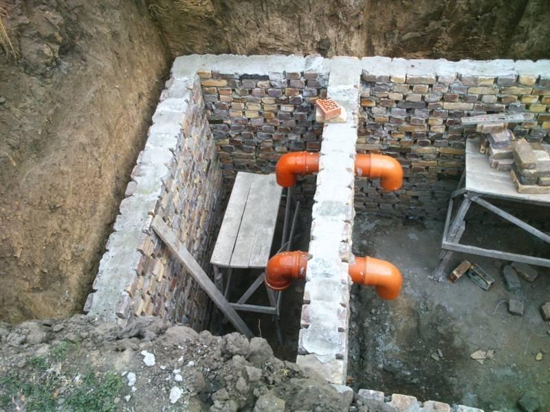 Выгребная яма из кирпича своими руками для частного дома: плюсы и минусы, когда она не пропускает воду