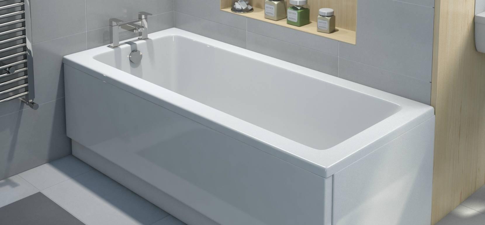 Выясняем: какая ванна лучше - чугунная, акриловая или стальная