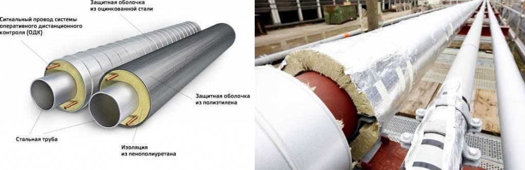 Цилиндры теплоизоляционные для труб: обзор