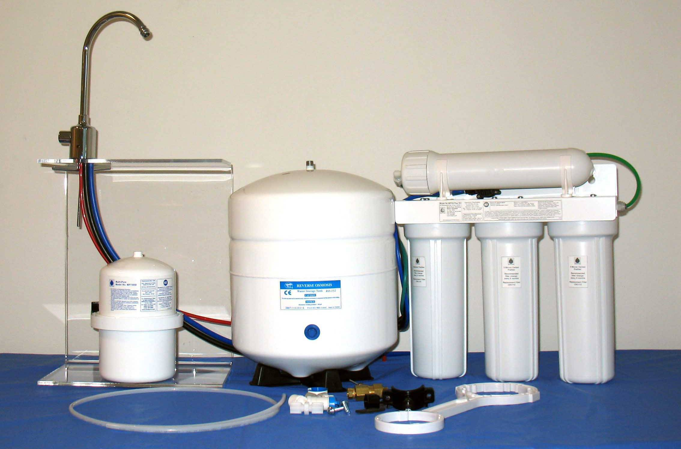 Системы фильтрации и способы очистки воды