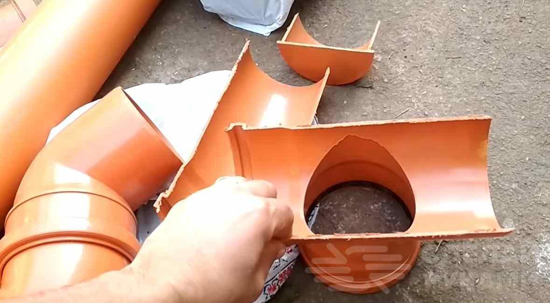 Водосток из канализационных труб своими руками: полезные советы