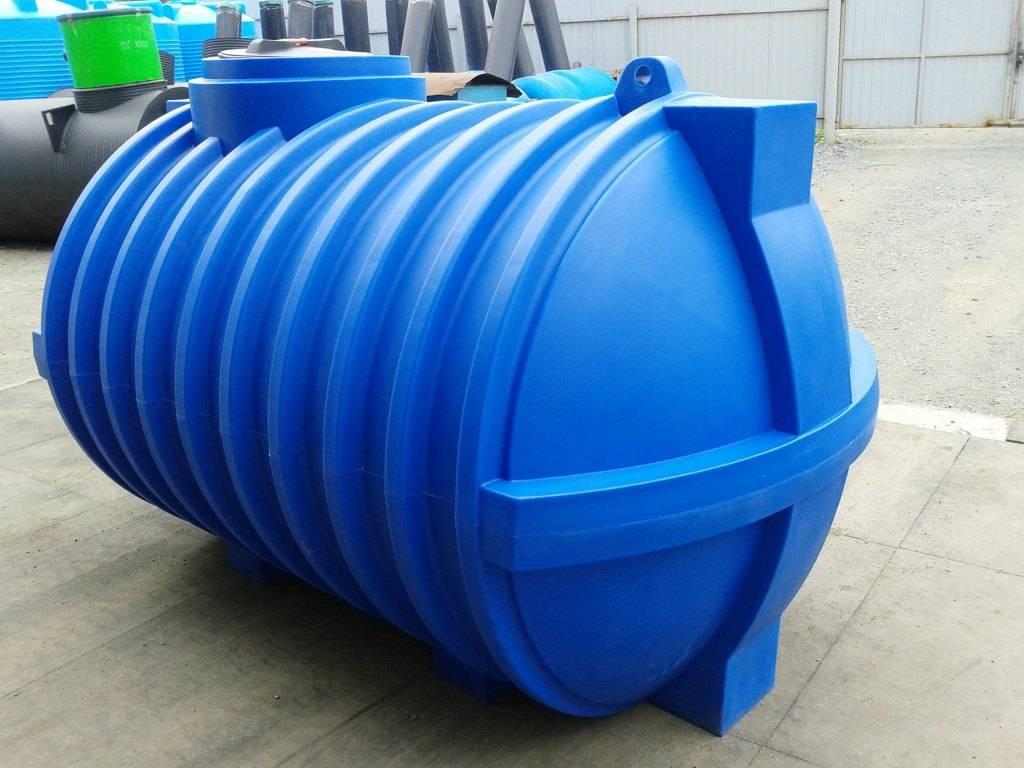 Накопительная емкость для канализации: пластиковая, полипропиленовая и железная
