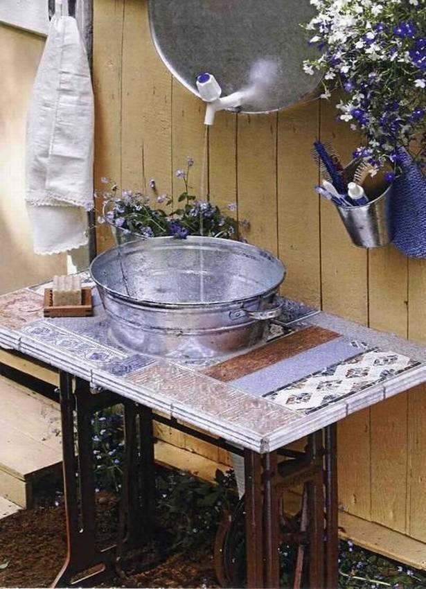 Как сделать умывальник на даче своими руками: фото, видео