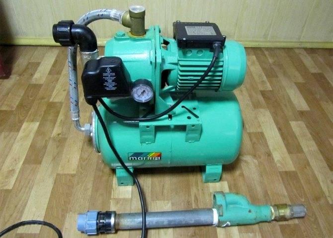Эжектор для насосной станции - сборка и установка своими руками - экопроблем