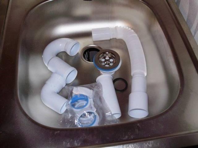 Сборка сифона для раковины - все о канализации