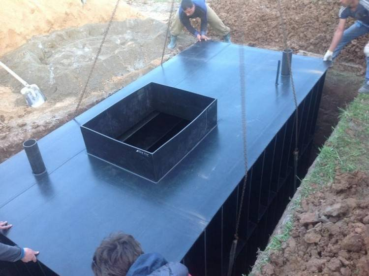 Как сделать кессон для погреба своими руками
