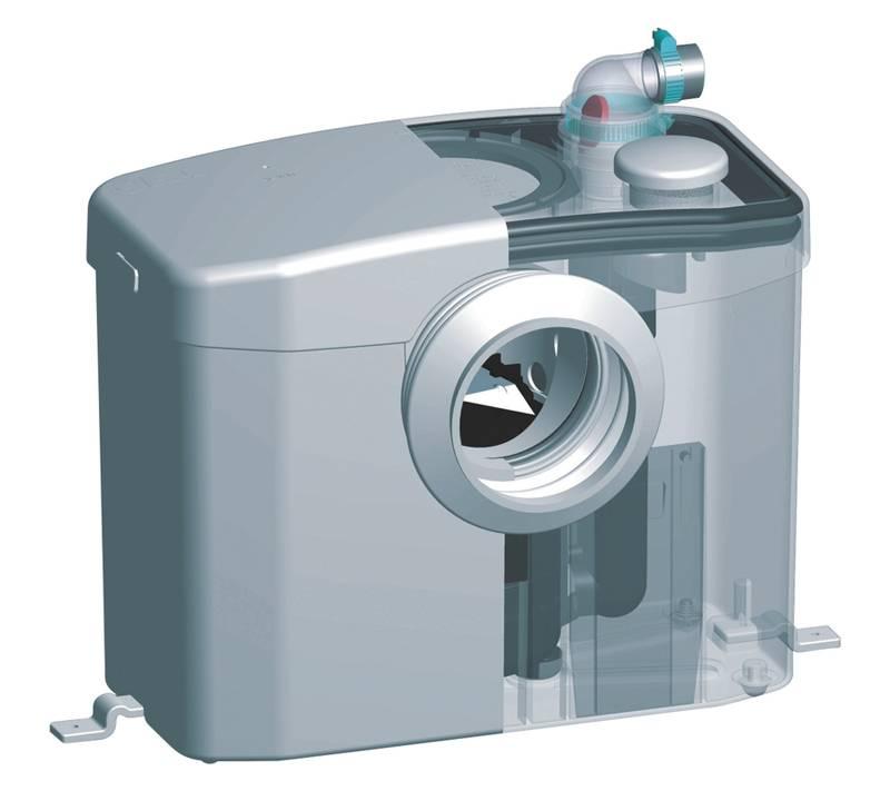 Фекальный насос с измельчителем для туалета - виды, особенности