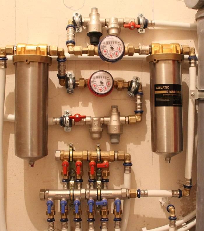 Коллекторная схема подачи воды в квартире