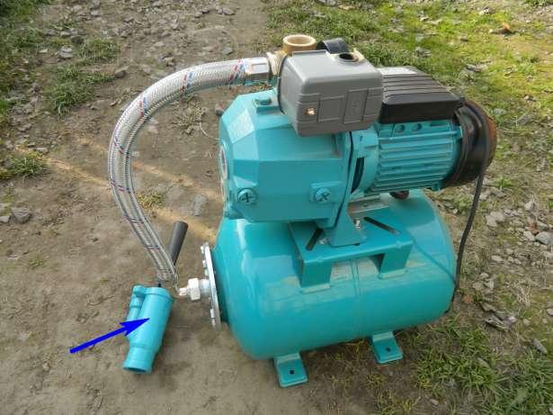 Эжектор для насосной станции: схема, устройство самоделки + подключение