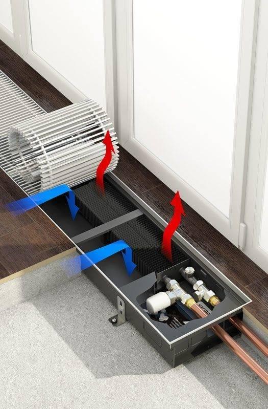 Отопление дома конвекторами: виды, плюсы, минусы, расходы