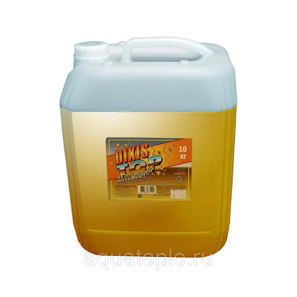 Теплоноситель для системы отопления загородного дома: антифриз и жидкость, пропиленгликоль