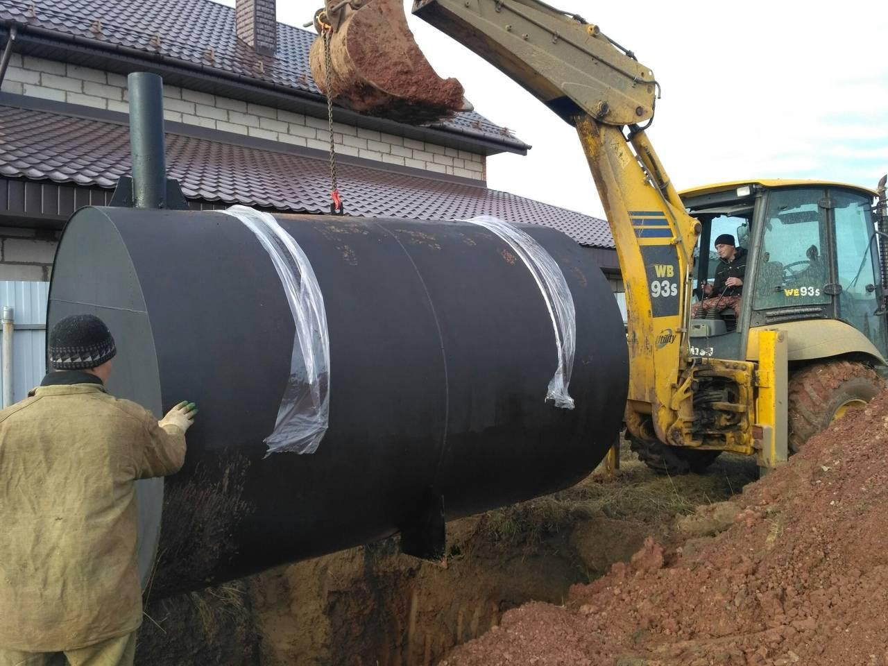 Сточные емкости для установки канализации в загородном доме, даче | септик клён официальный сайт производителя!