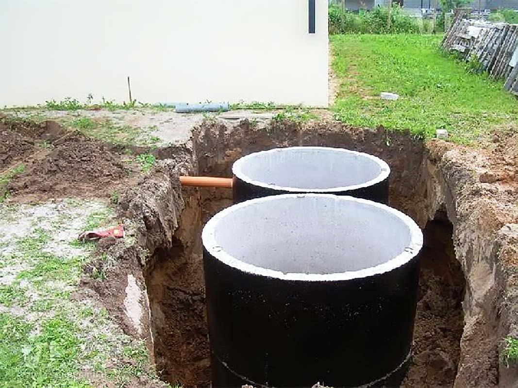 Как сделать септик из колец в загородном доме своими руками