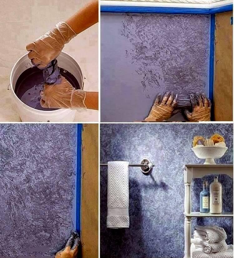 Покраска стен водоэмульсионной краской (34 фото): как покрасить без разводов, технология окраски, идеи дизайна