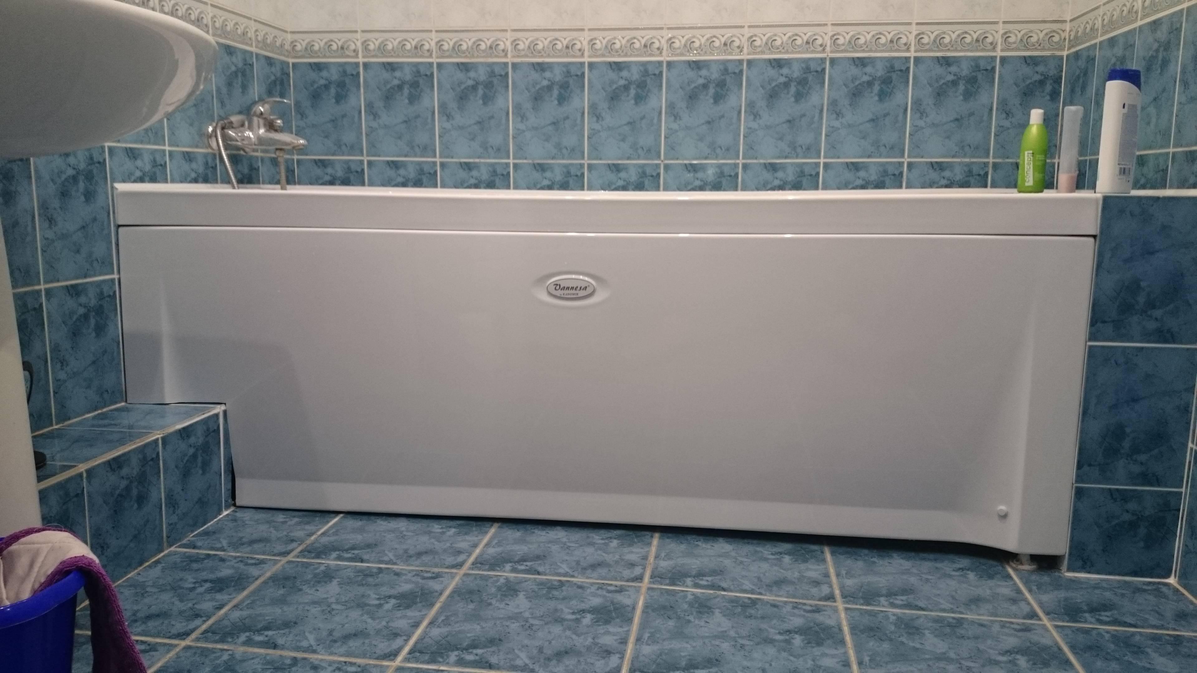 Как правильно установить экран под ванну собственноручно