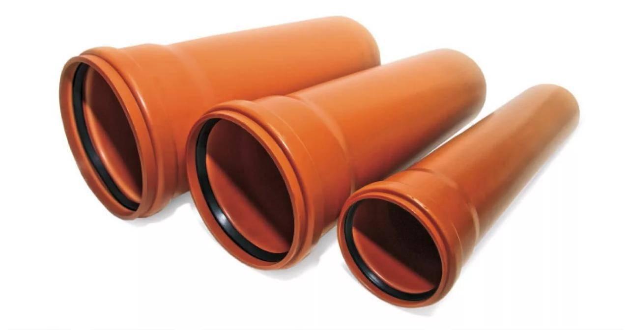 Трубы для канализации в частном доме: виды и критерии выбора