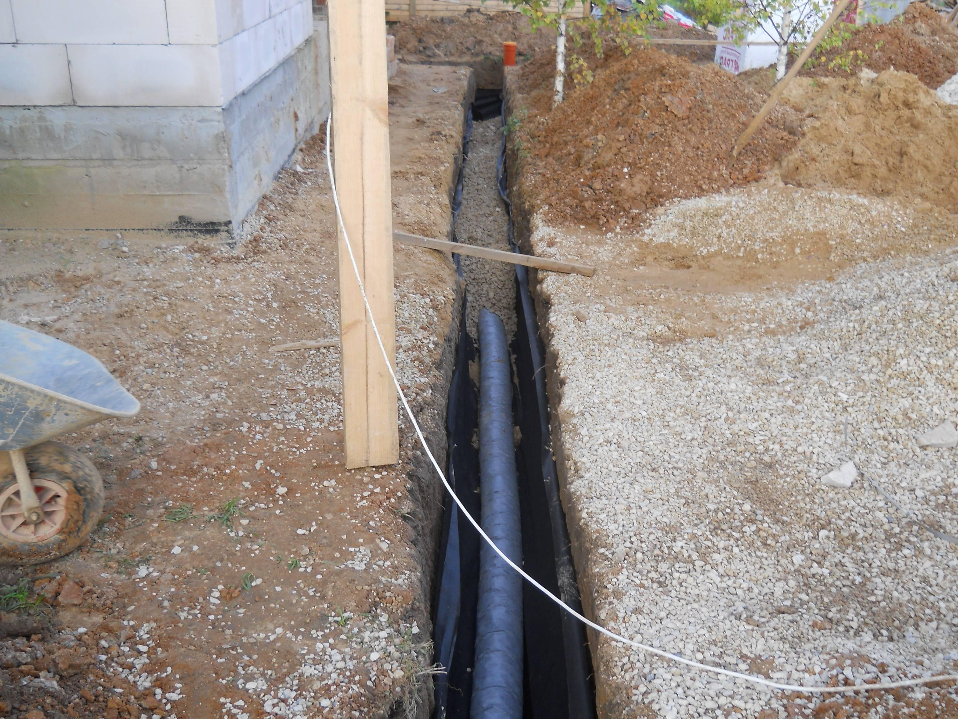 Как сделать дренаж на участке своими руками: отводим излишки воды на разных типах почвы, правильно и недорого (20 фото & видео) +отзывы