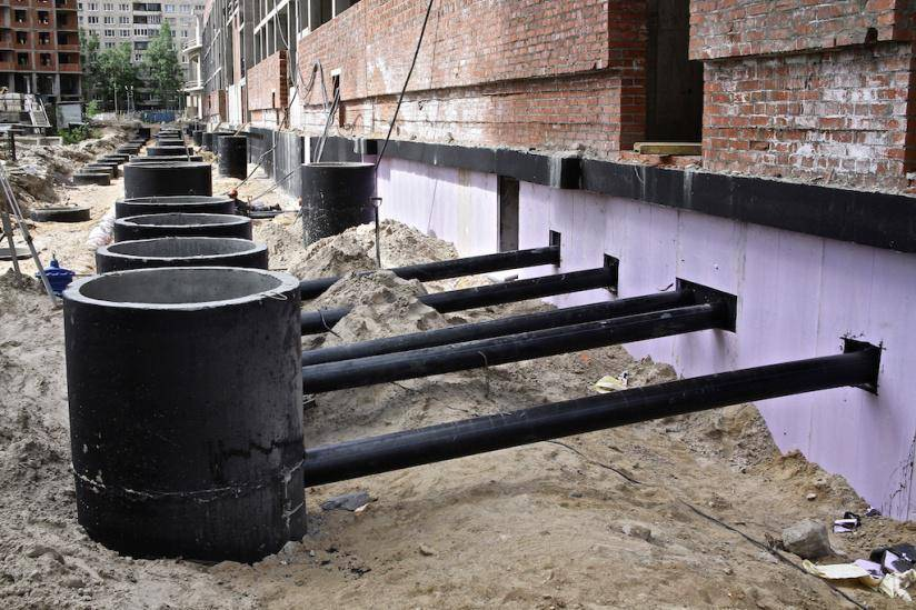 Подключение дома к центральной канализации
