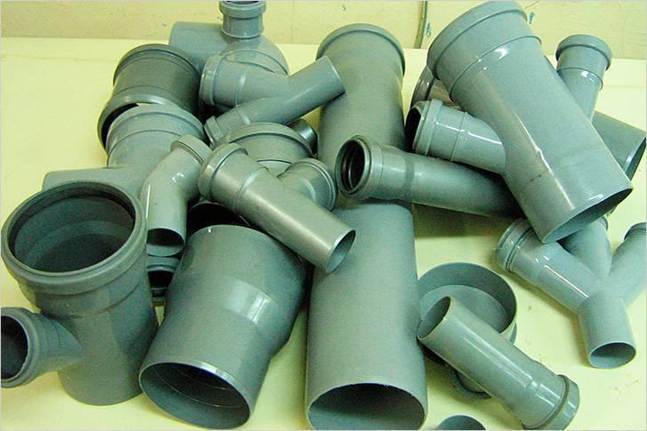 ПВХ трубы для канализации: Применение для внутренних и наружных сетей +Фото