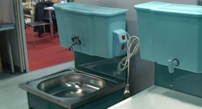 Как выбрать рукомойники с подогревом воды: обзор, видео