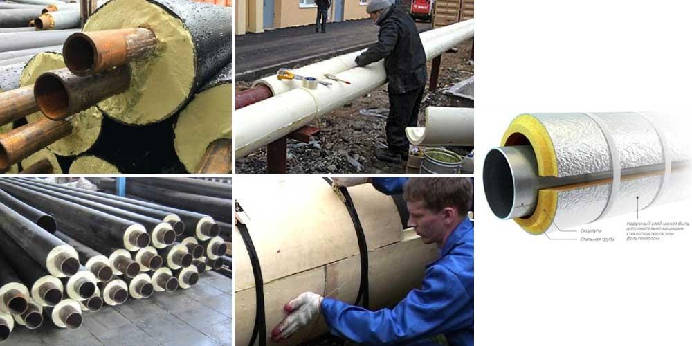 Вус изоляция как защита трубопроводов от коррозии. стальная труба в вус изоляции