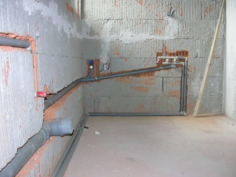 Канализация в квартире своими руками - монтаж и ремонт канализации квартиры + фото