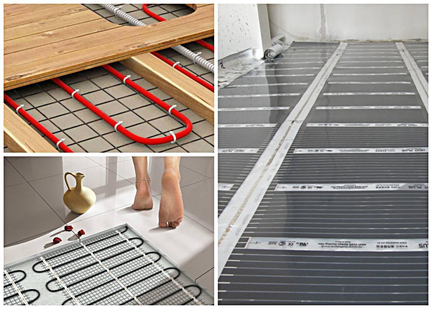 Тёплый пол на балконе под плитку - обзор оптимальных вариантов