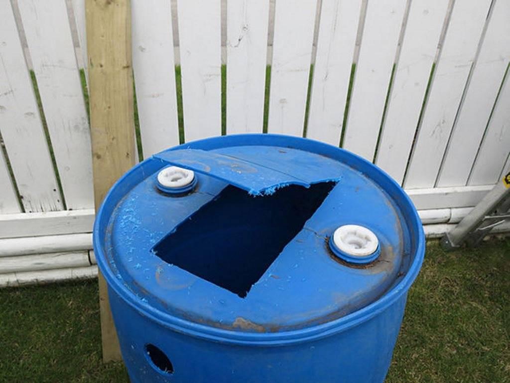 Септик для бани с туалетом из бочки 200 литров без откачки своими руками, обустройство слива для бани